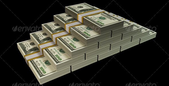 GraphicRiver Money Stack 6327531