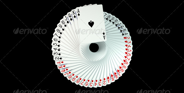 GraphicRiver Playing Cards Spread 6327536