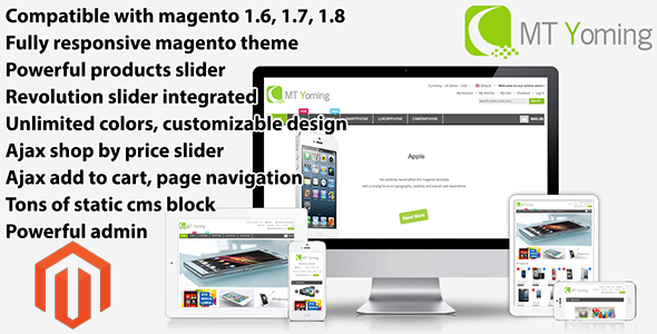 ThemeForest Yoming Technology Responsive Magento Theme 6317097