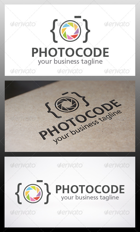 GraphicRiver Photo Code Logo 6328349