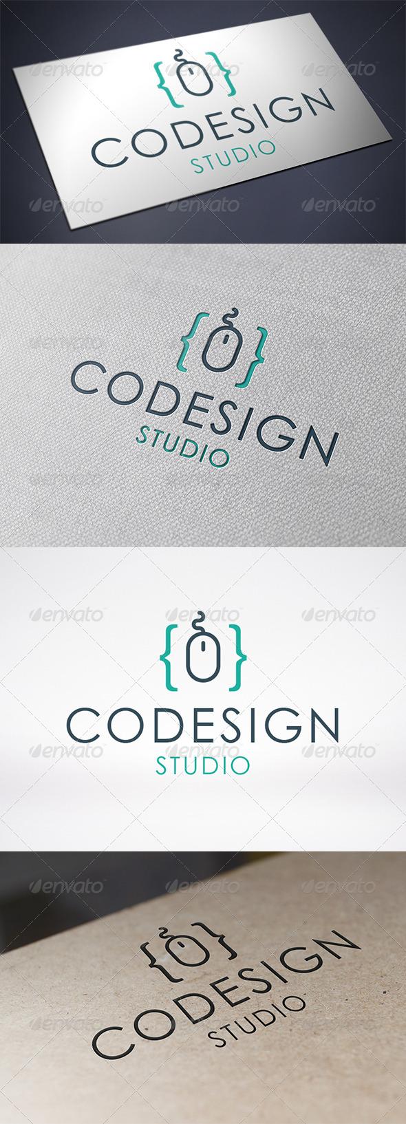 GraphicRiver Code Design Logo Template 6328529