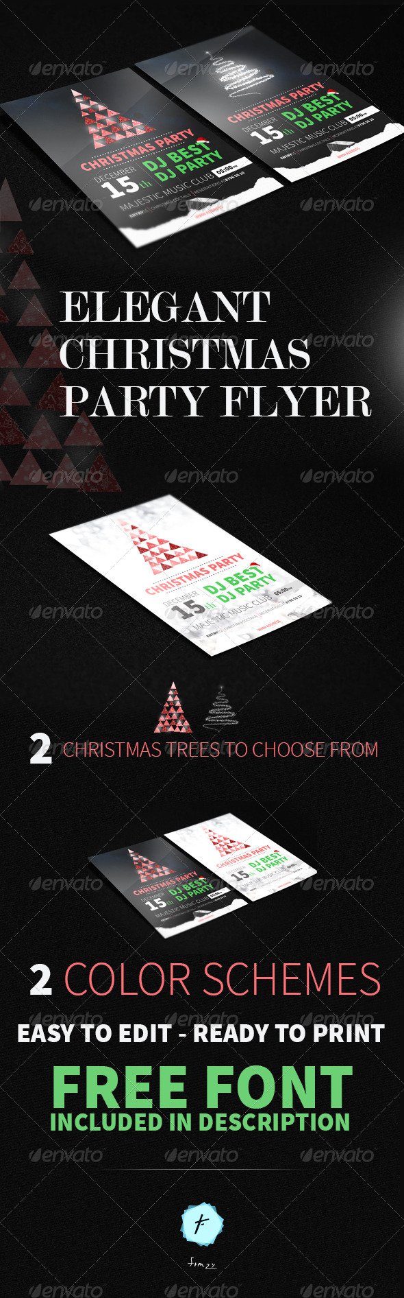 GraphicRiver Christmas Party FLYER 6272667