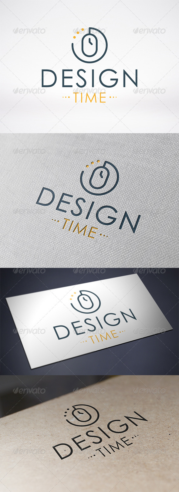GraphicRiver Design Time Logo Template 6328641