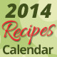2014 Recipes Calendar - GraphicRiver Item for Sale