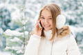 Cheerful Woman Talking on the Phone - PhotoDune Item for Sale
