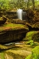 Moss covered rocks near wallter fall in rainsforest. - PhotoDune Item for Sale