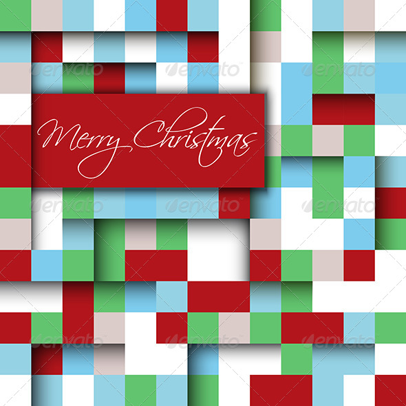 GraphicRiver Merry Christmas Background 6328943