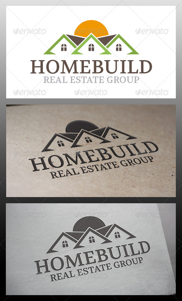 GraphicRiver Home Builders Logo 6328982