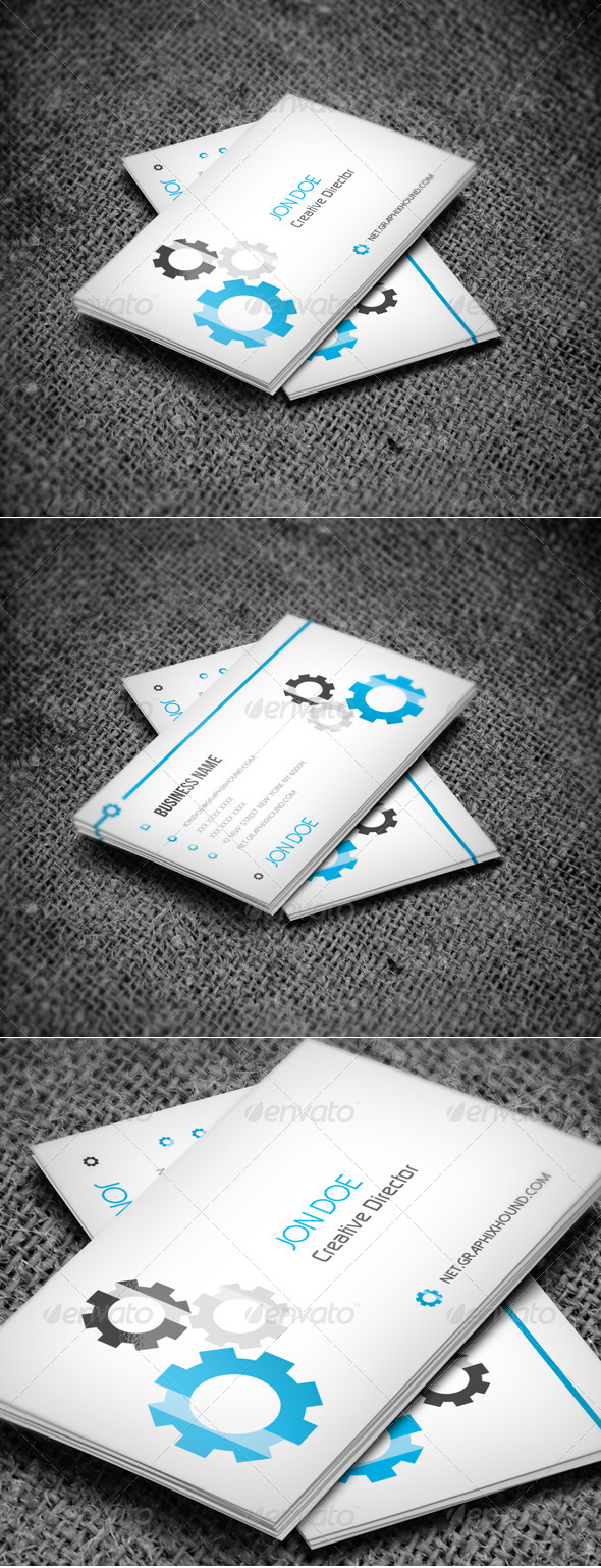 GraphicRiver Creative Business Card 6329297
