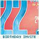 Birthday Party Invitation / Postcard - GraphicRiver Item for Sale