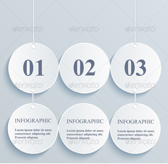 GraphicRiver Abstract Numeric Circles 6329674