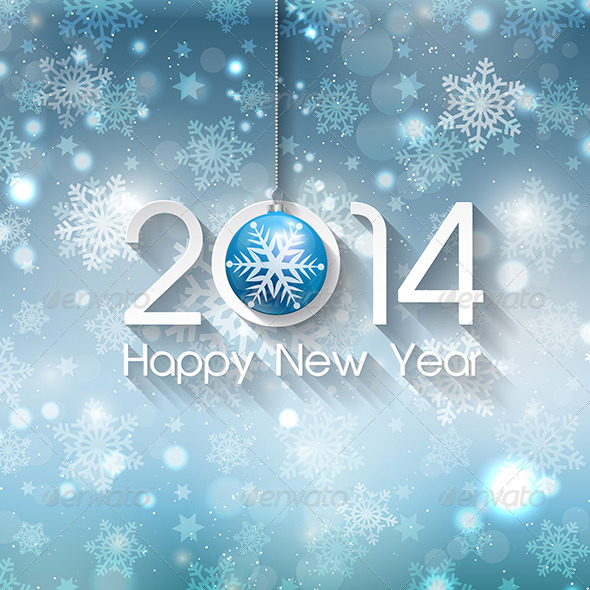 GraphicRiver Happy New Year Background 6329863