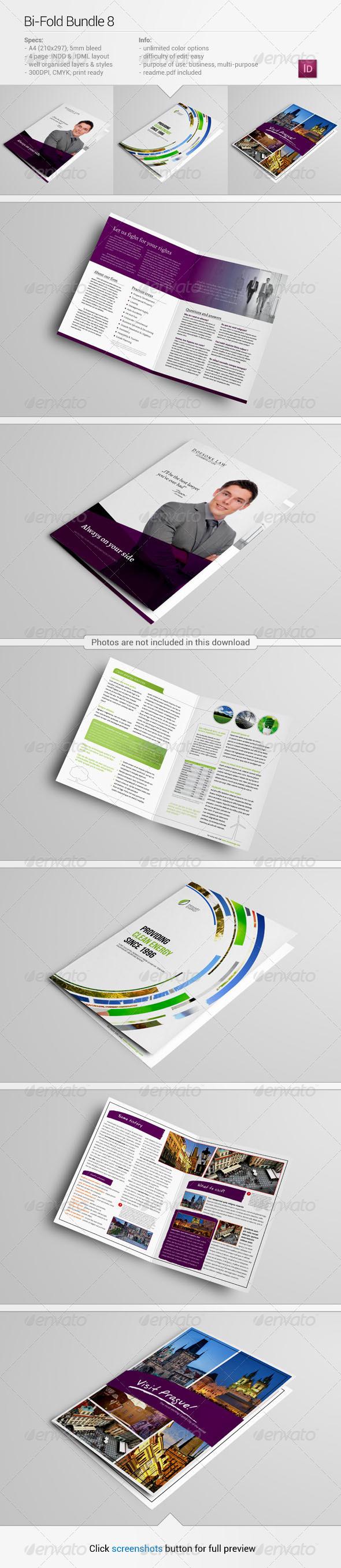 GraphicRiver Bi-Fold Bundle 8 6329870