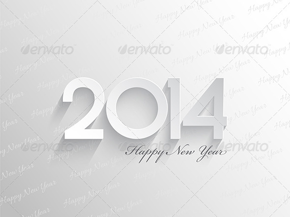 GraphicRiver New Year Background 6329879