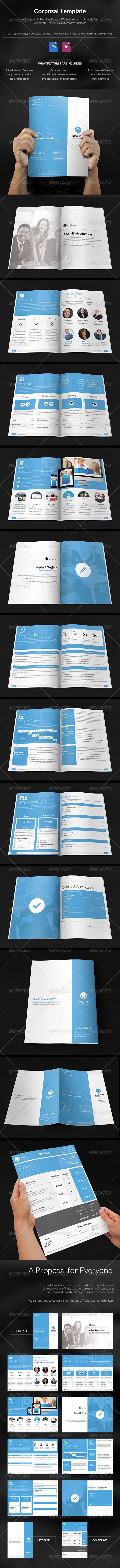 GraphicRiver Corposal A Corporate Porposal Template 6329691