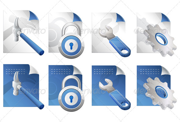 GraphicRiver File Icon Set 6329885