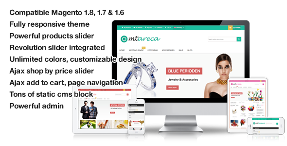 Areca - Multi-Purpose Responsive Magento Theme