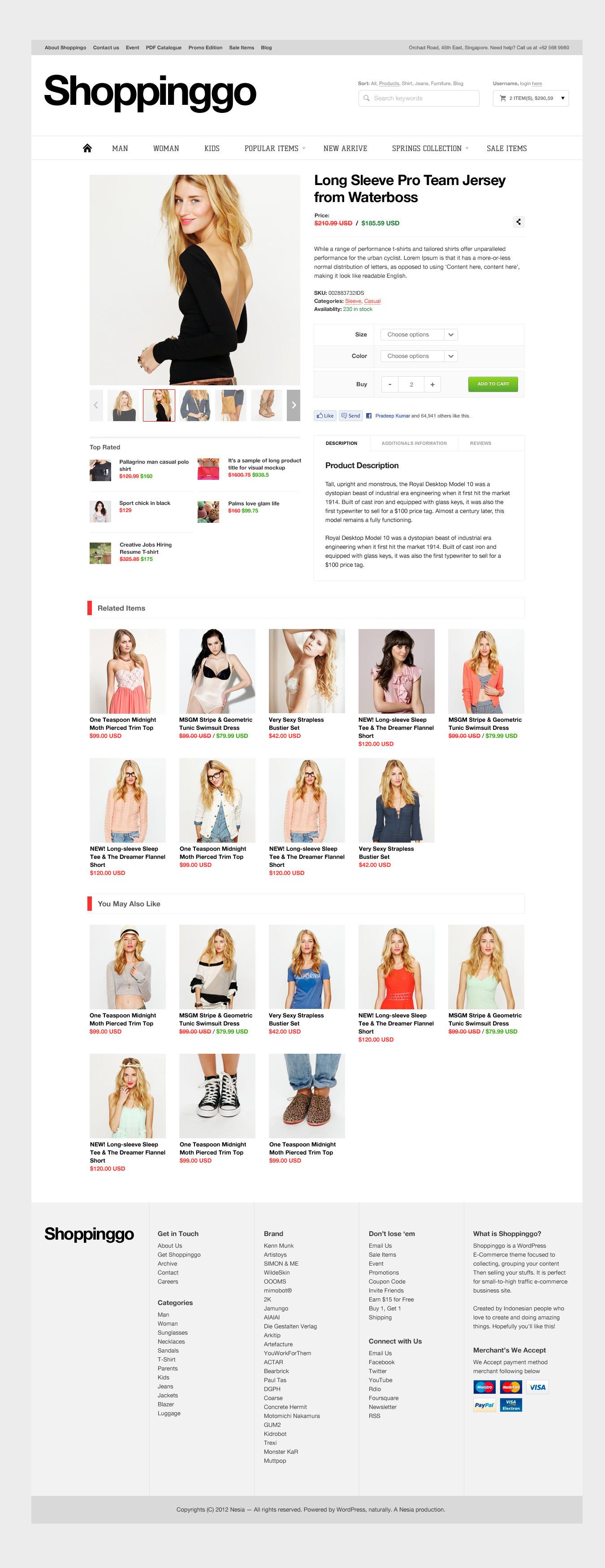 Shoppinggo - WordPress eCommerce Theme