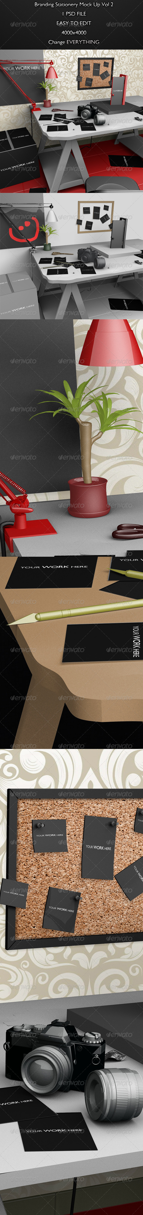 GraphicRiver Branding Stationery Mock Up Vol 2 6326767