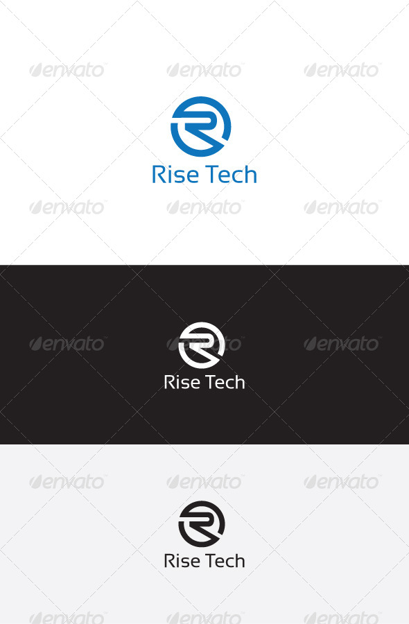 GraphicRiver R Letter Logo Template 6330511