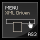 Actionscript 3 XML menu with submenus - ActiveDen Item for Sale