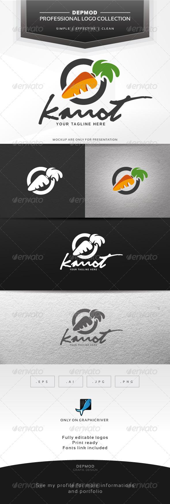 GraphicRiver Karrot Logo 6330556