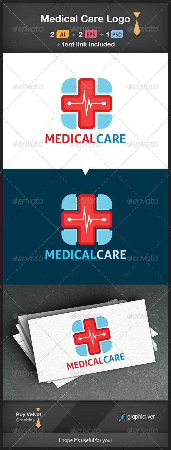 GraphicRiver Medical Care Logo 6330566
