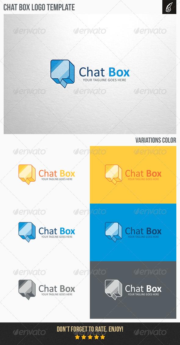 GraphicRiver Chat Box Logo 6330716