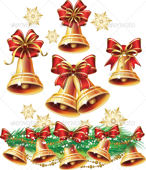 GraphicRiver Christmas Bells 6330743