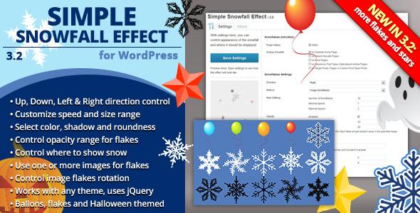 Simple Snowfall Effect