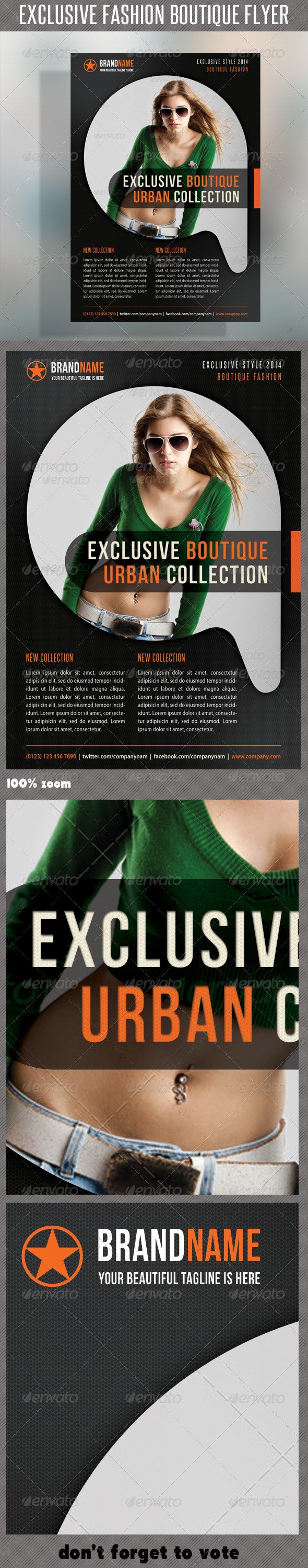 GraphicRiver Fashion Product Flyer 22 6331328