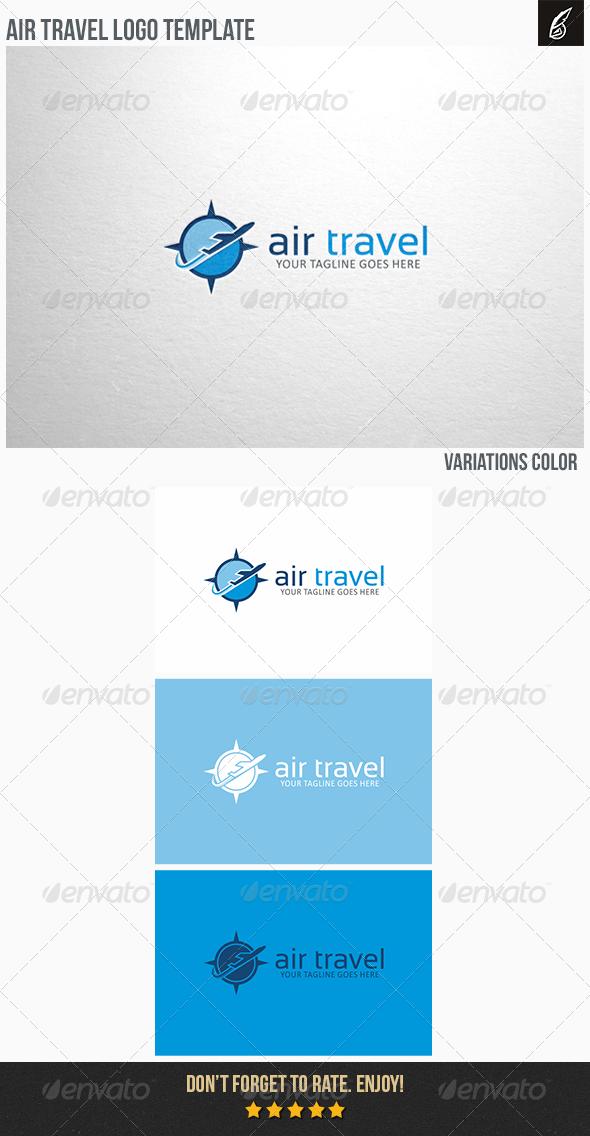 GraphicRiver Air Travel Logo 6331864