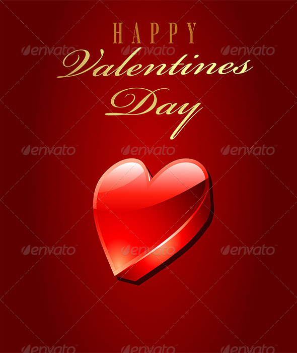 GraphicRiver Happy Valentine Day Card 6331918