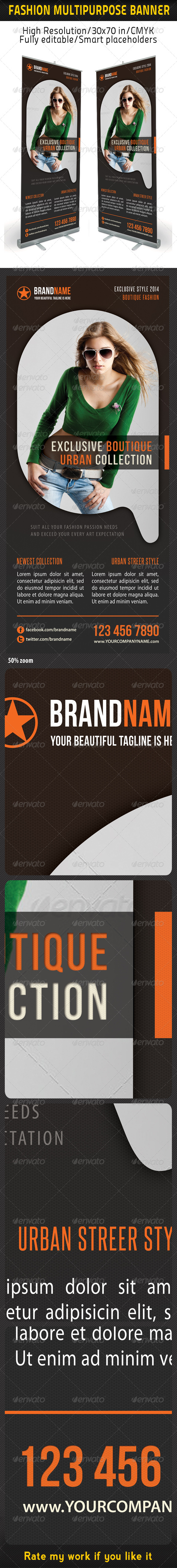 GraphicRiver Fashion Multipurpose Banner Template 21 6332008