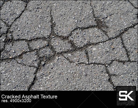 GraphicRiver Cracked Asphalt 6332158