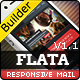 FLATA- Flat Responsive Email With Template Builder - ThemeForest Item for Sale