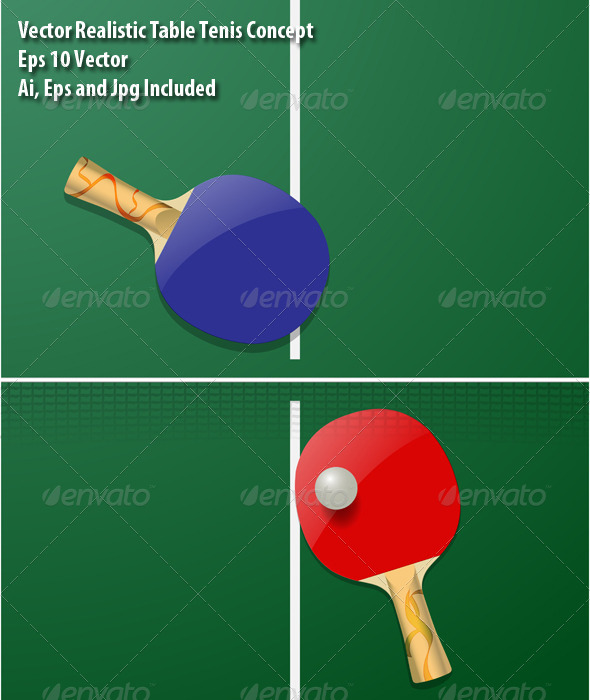 GraphicRiver Table Tennis 6332346