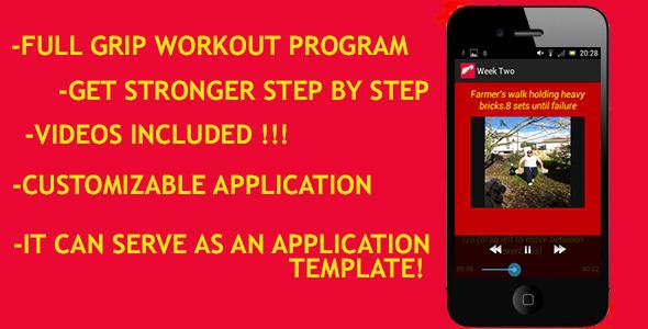 CodeCanyon Grip Strengthening App 6264234