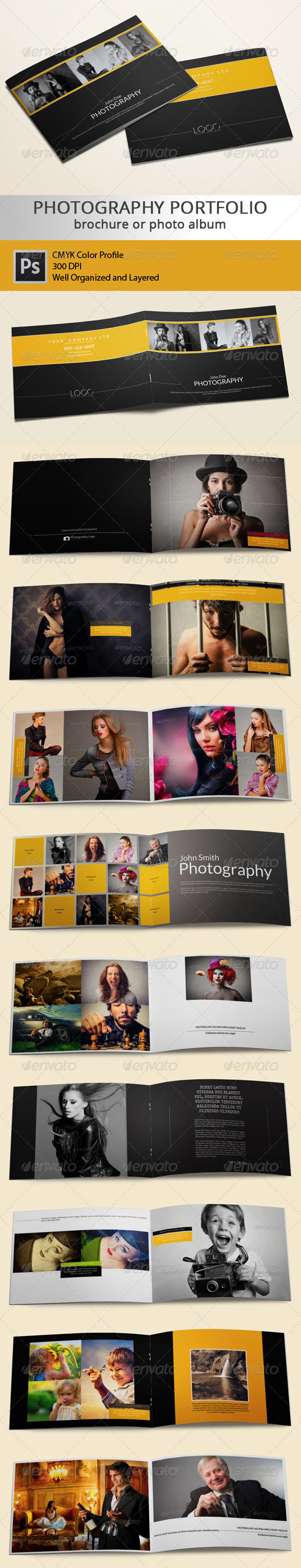 GraphicRiver 20 Pages Photography Portfolio or Photo Album 6332899