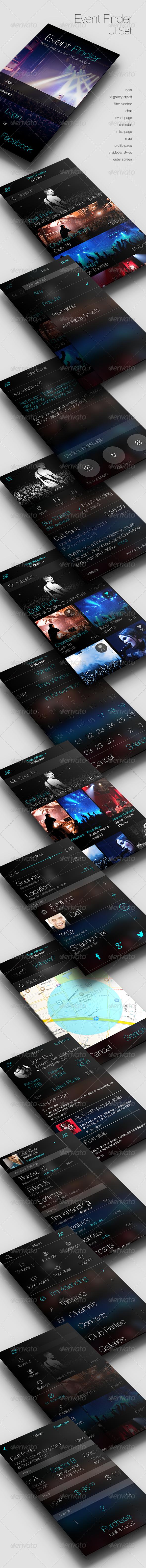 GraphicRiver Event Finder App 6333053