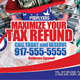 Tax Refund - GraphicRiver Item for Sale