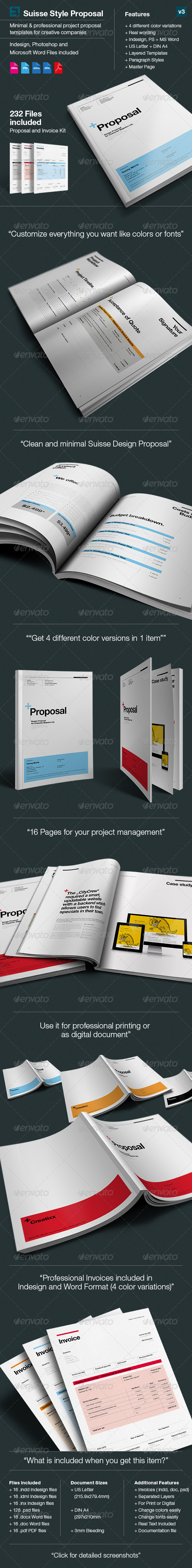 Proposal Template Suisse Design