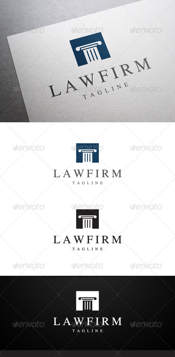 GraphicRiver Law Firm Logo 6333252