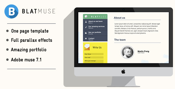 Blatmuse | Creative agency design