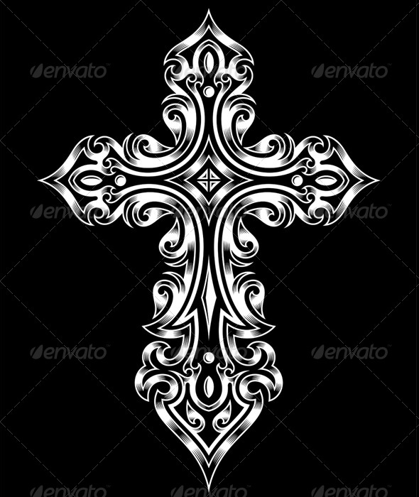 GraphicRiver Gothic Cross 6334044