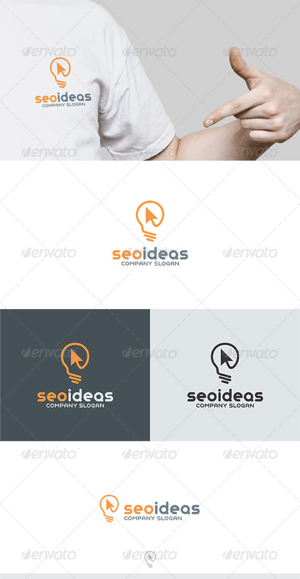 GraphicRiver Seo Ideas Logo 6334244
