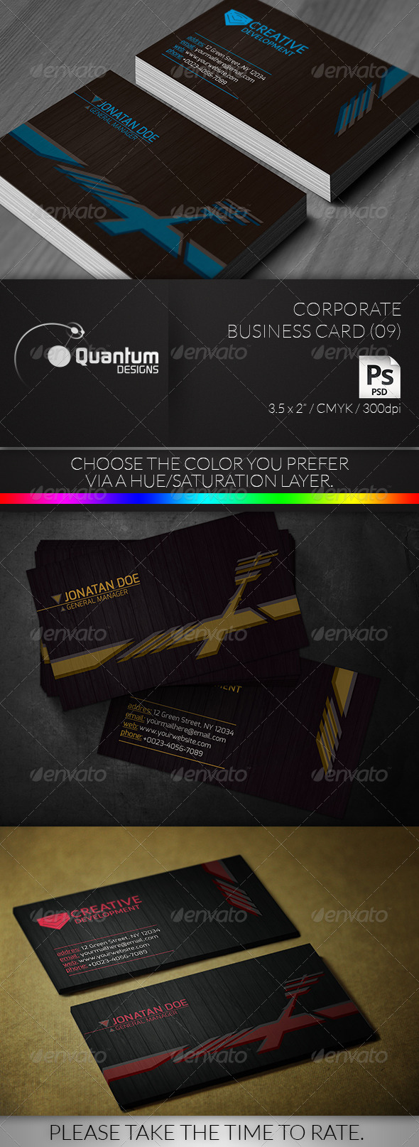 GraphicRiver Corporate Business Card 09 6334701