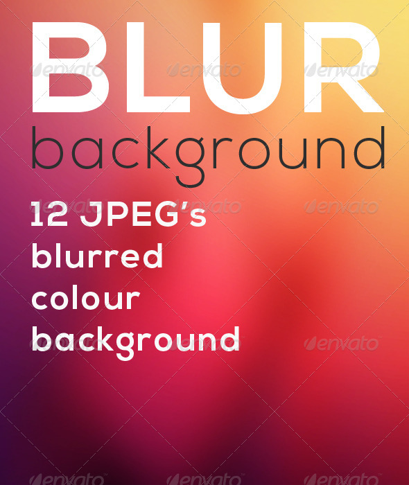 GraphicRiver Blurred Backgrounds 6313527