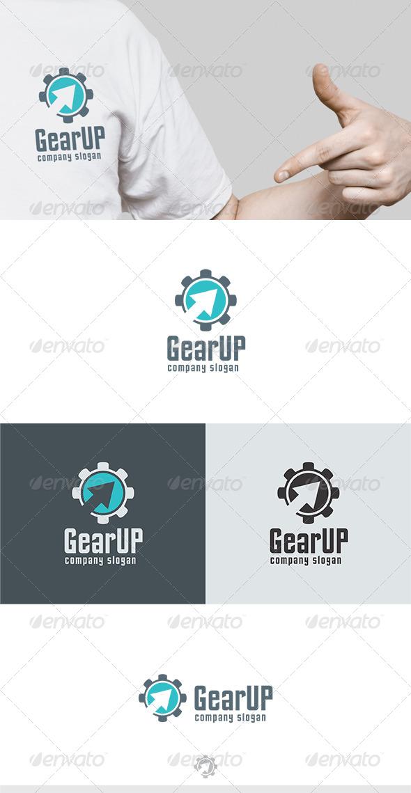 GraphicRiver GearUP Logo 6335069