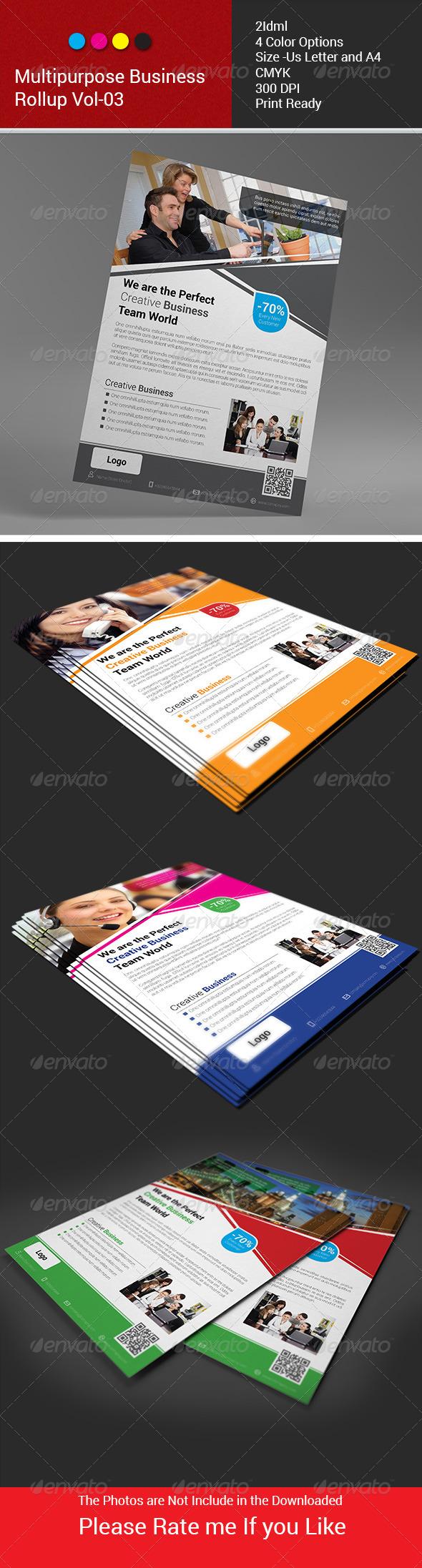 GraphicRiver Multipurpose Business Flyer Vol-03 6335107